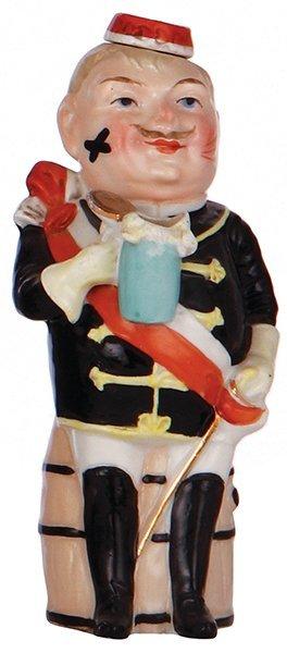 Porcelain bottle, Student [Society Member]