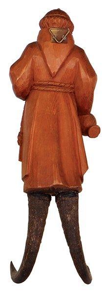 Black Forest clothing hook, Monk - 2