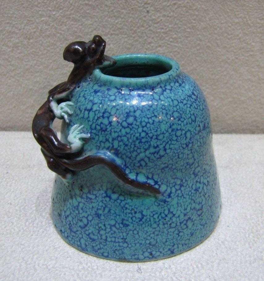 A Robin's-Egg Glazed Waterpot