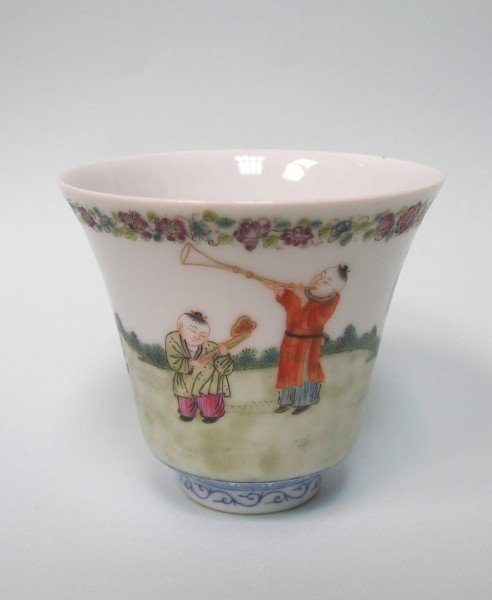 A Famille-Rose Cup
