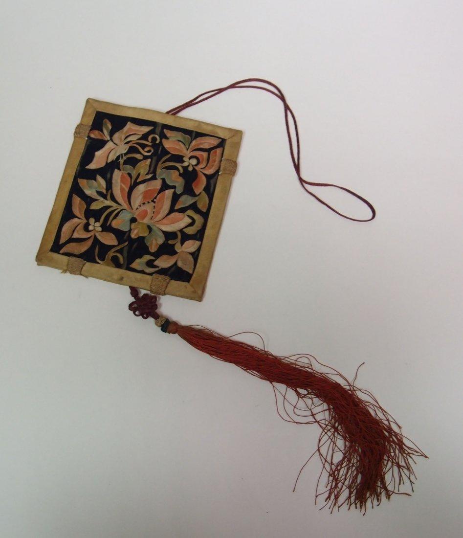 A Silk-Woven Incense Bag