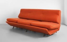 """MARCO ZANUSO  Un divano-letto """"Sleep-o-matic"""""""