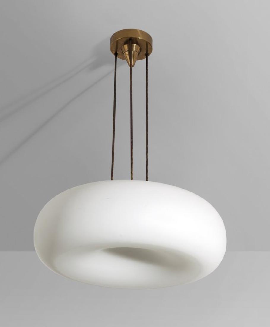 """FONTANA ARTE Una lampada a sospensione """"2356"""","""