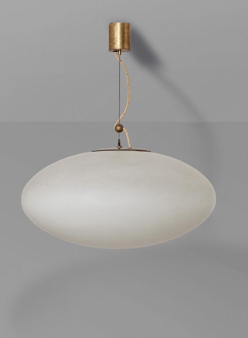 "STILNOVO Una lampada a sospensione ""1187"","