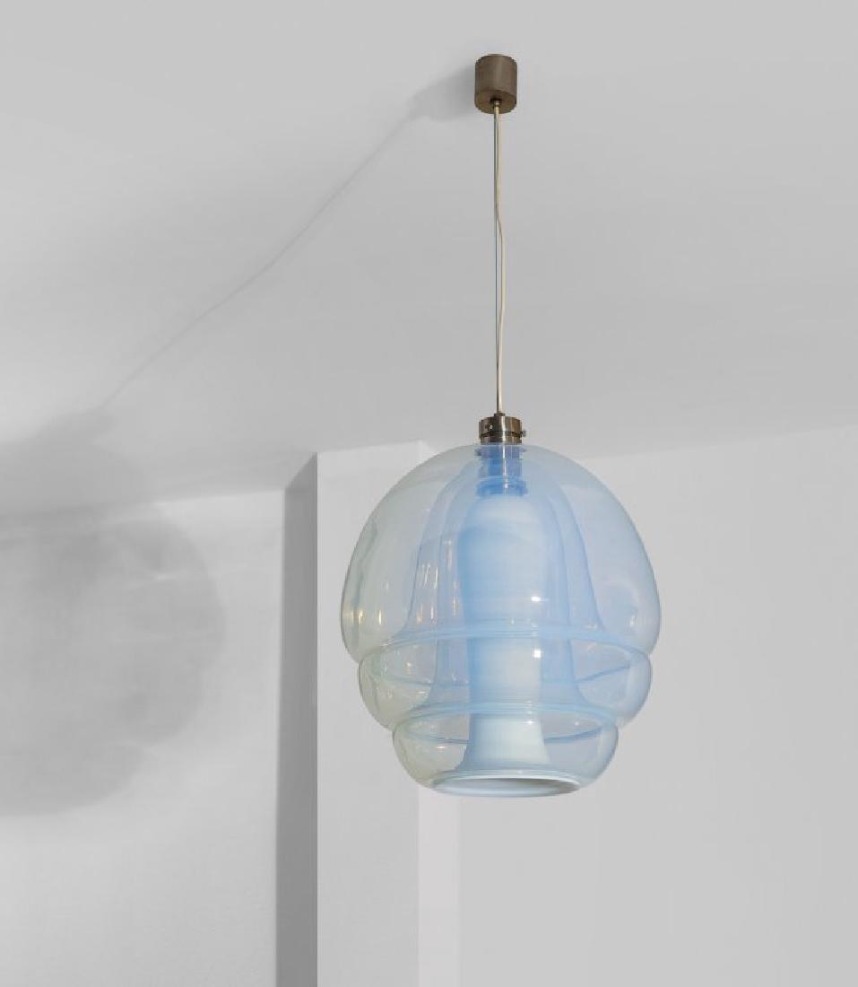 MAZZEGA (Editore) Una lampada a sospensione,