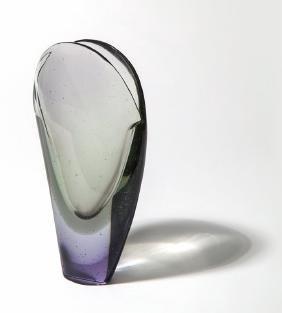 FLAVIO POLI, SEGUSO VETRI D'ARTE Un vaso