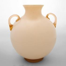 FLAVIO POLI, SEGUSO VETRI D'ARTE Un vaso in