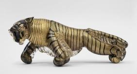 ALFREDO BARBINI  Figura di tigre, anni '30.