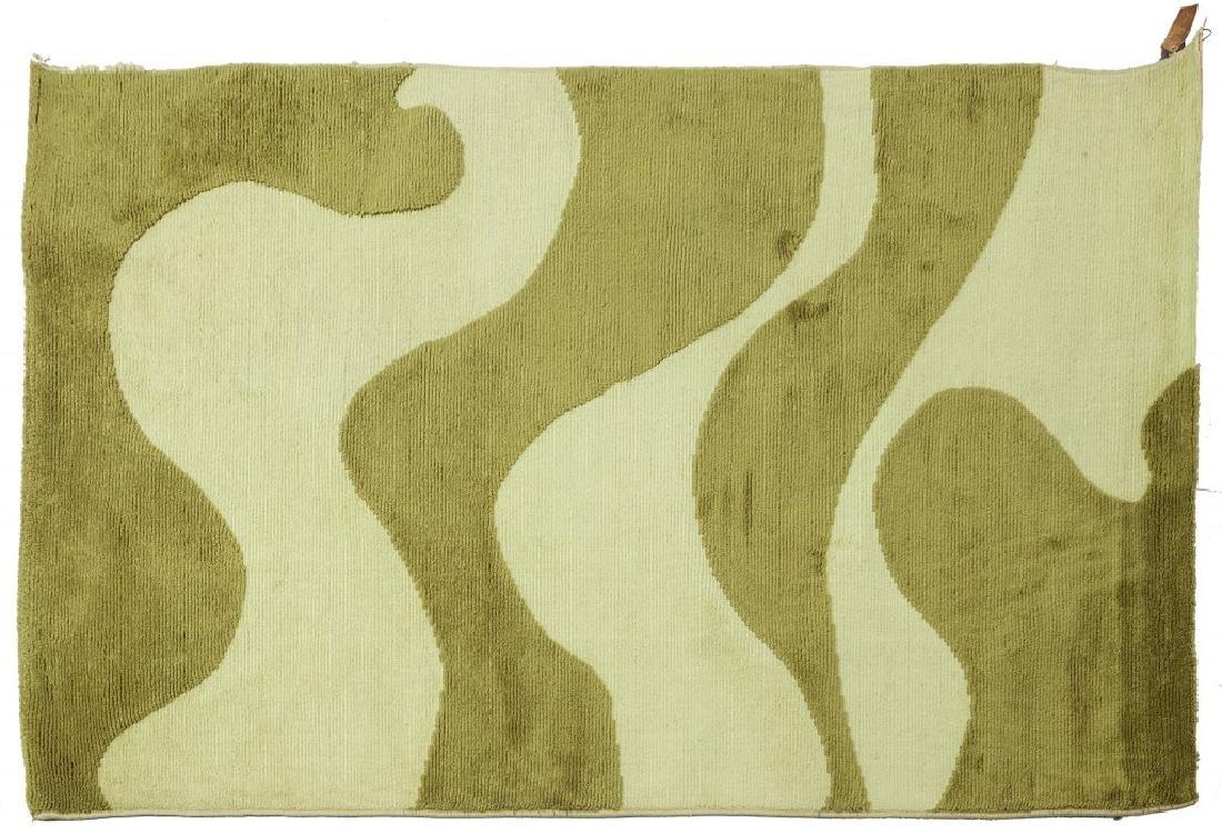 CARLO HAUNER  Un tappeto, anni '60.