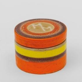GUIDO GAMBONE Una scatola in ceramica