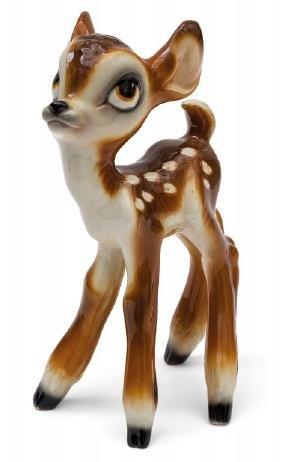 """CERAMICHE ZACCAGNINI """"Bambi"""", figura in"""