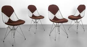 """CHARLES & RAY EAMES  Quattro sedie """"DKR/2"""""""