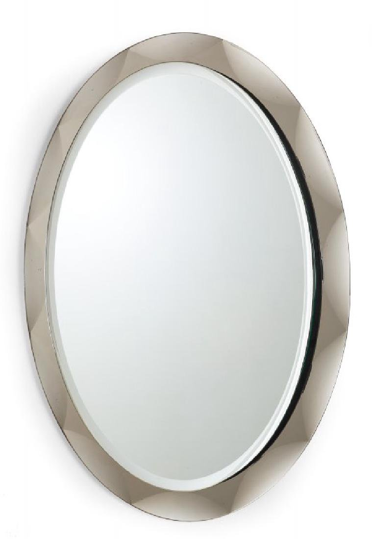METALVETRO  Uno specchio da parete, 1975.