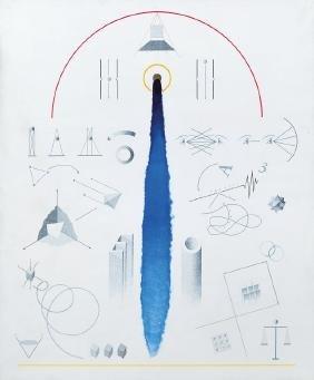FERRARI VINCENZO (1941-2010)  Pittura a