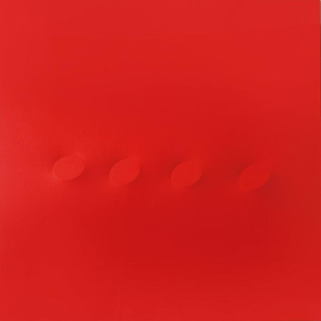TURI SIMETI (1929-)  Quattro ovali rossi
