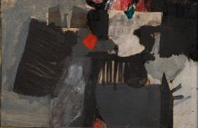 AFRO BASALDELLA (1912-1976)  Senza titolo