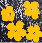 ANDY WARHOL (1928-1987)  Flowers