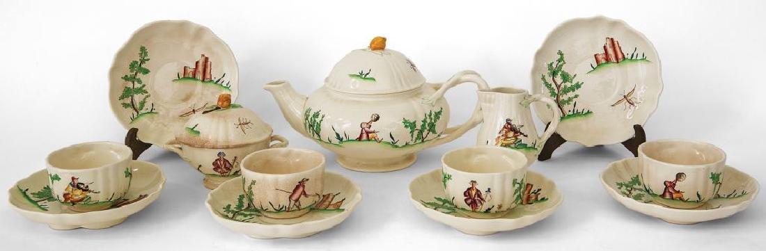 GUIDO ANDLOVIZ  Un servizio da tè formato