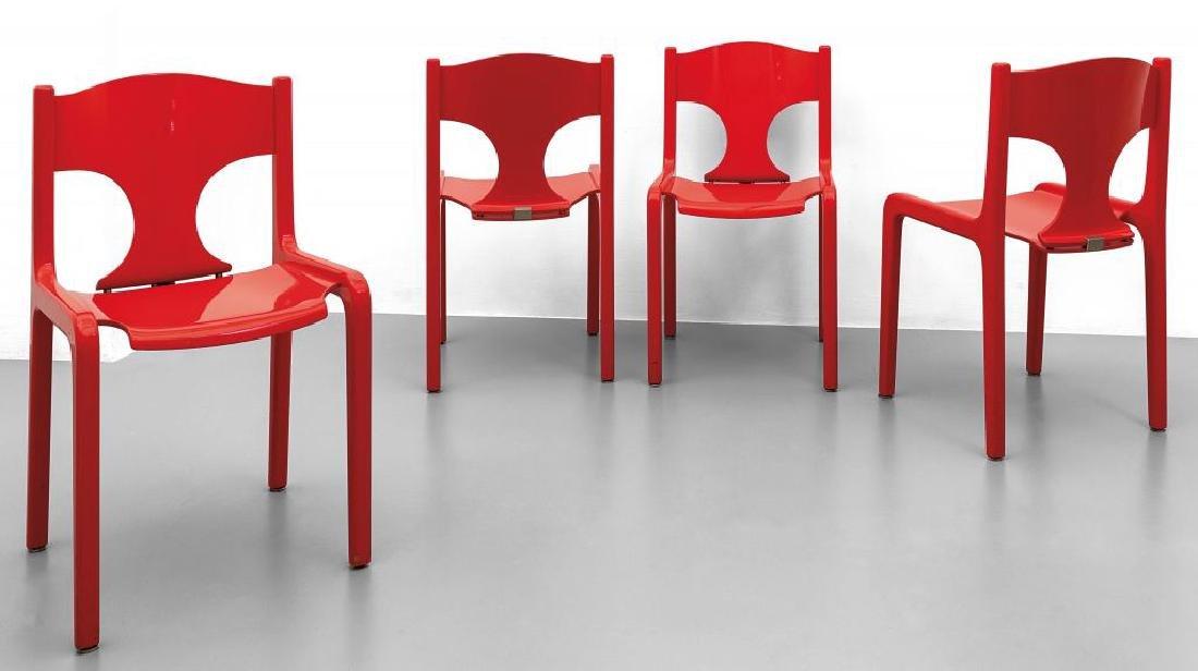 Affordable quattro sedie anni u legno e compensato with for Sedie design anni 70
