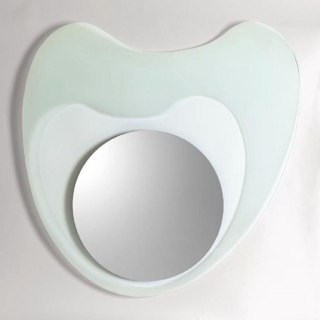 """NANDA VIGO Uno specchio da parete """"Round"""