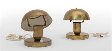 GILARDI  BARZAGHI  Due lampade da tavolo