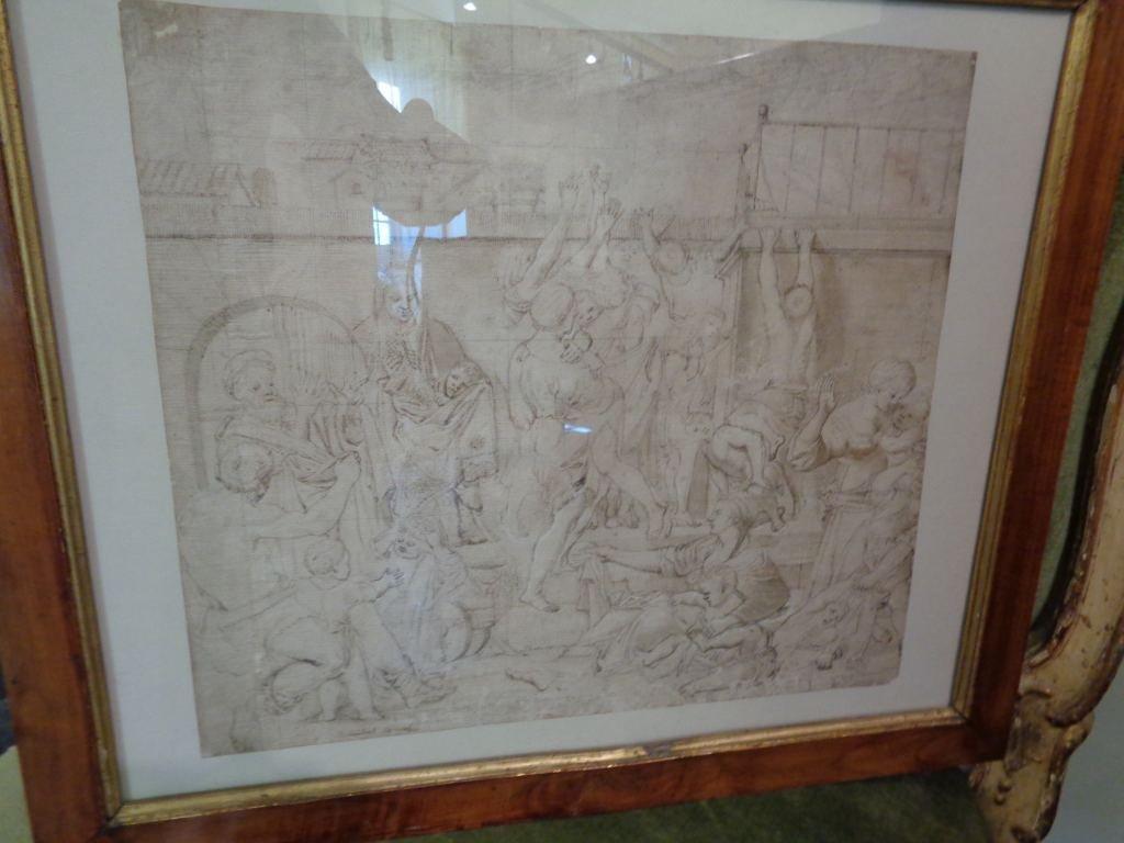 "Scuola emiliana sec.XVII/XVIII ""La strage degli"