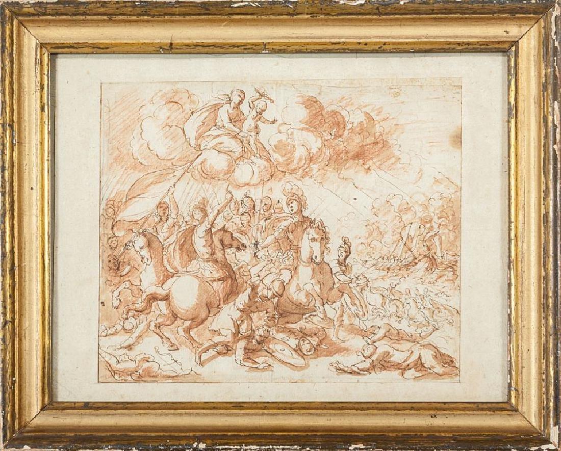 """Scuola lombarda sec.XVIII """"Allegoria di un"""