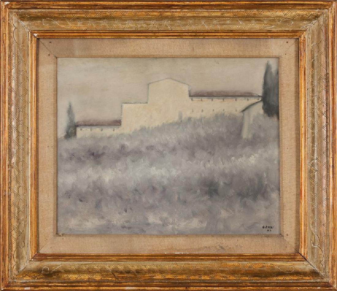 OTTONE ROSAI (1895-1957)  Uliveto olio cm.