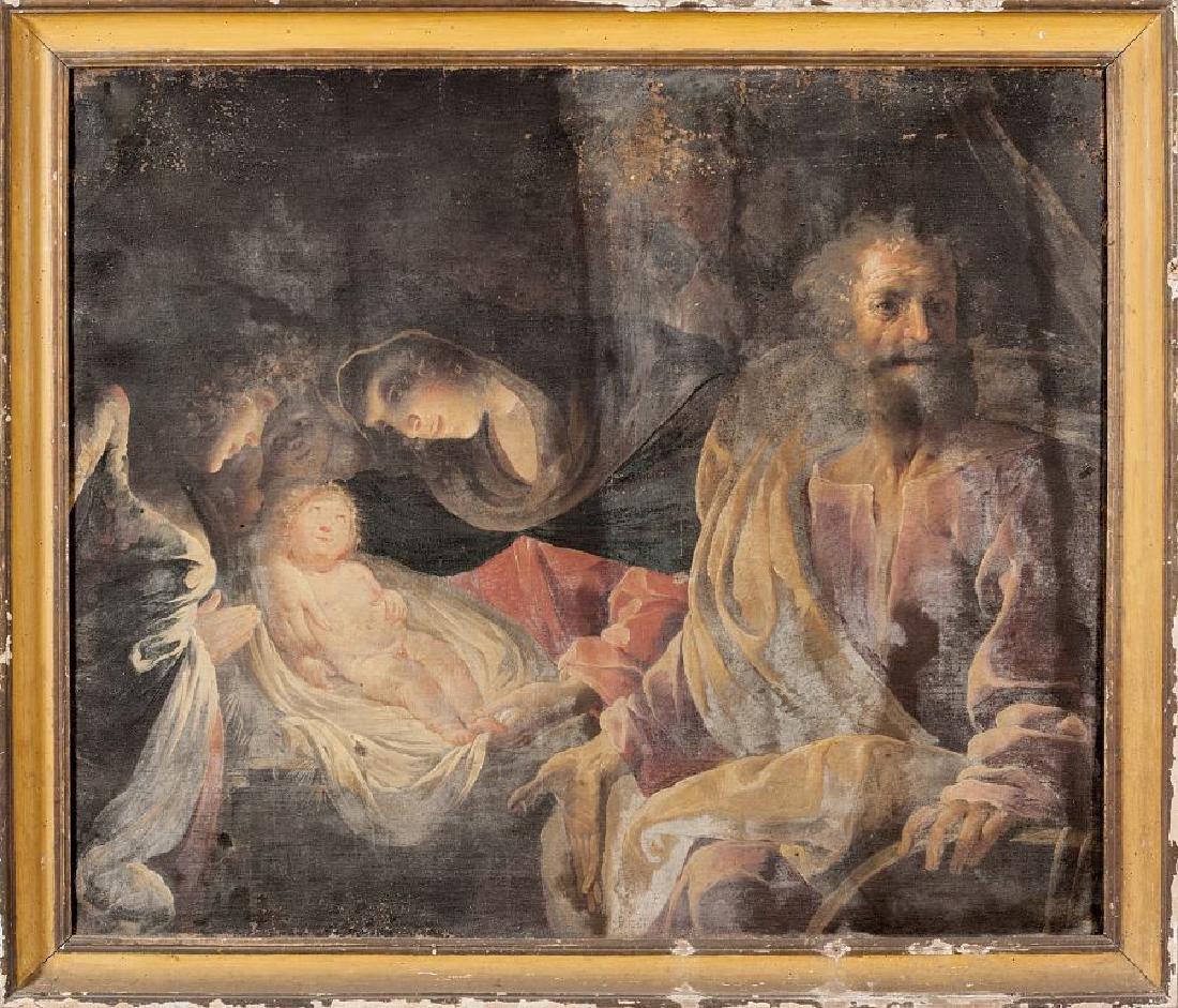 """PAOLO PAGANI (1655-1716)  """"L'Adorazione del"""