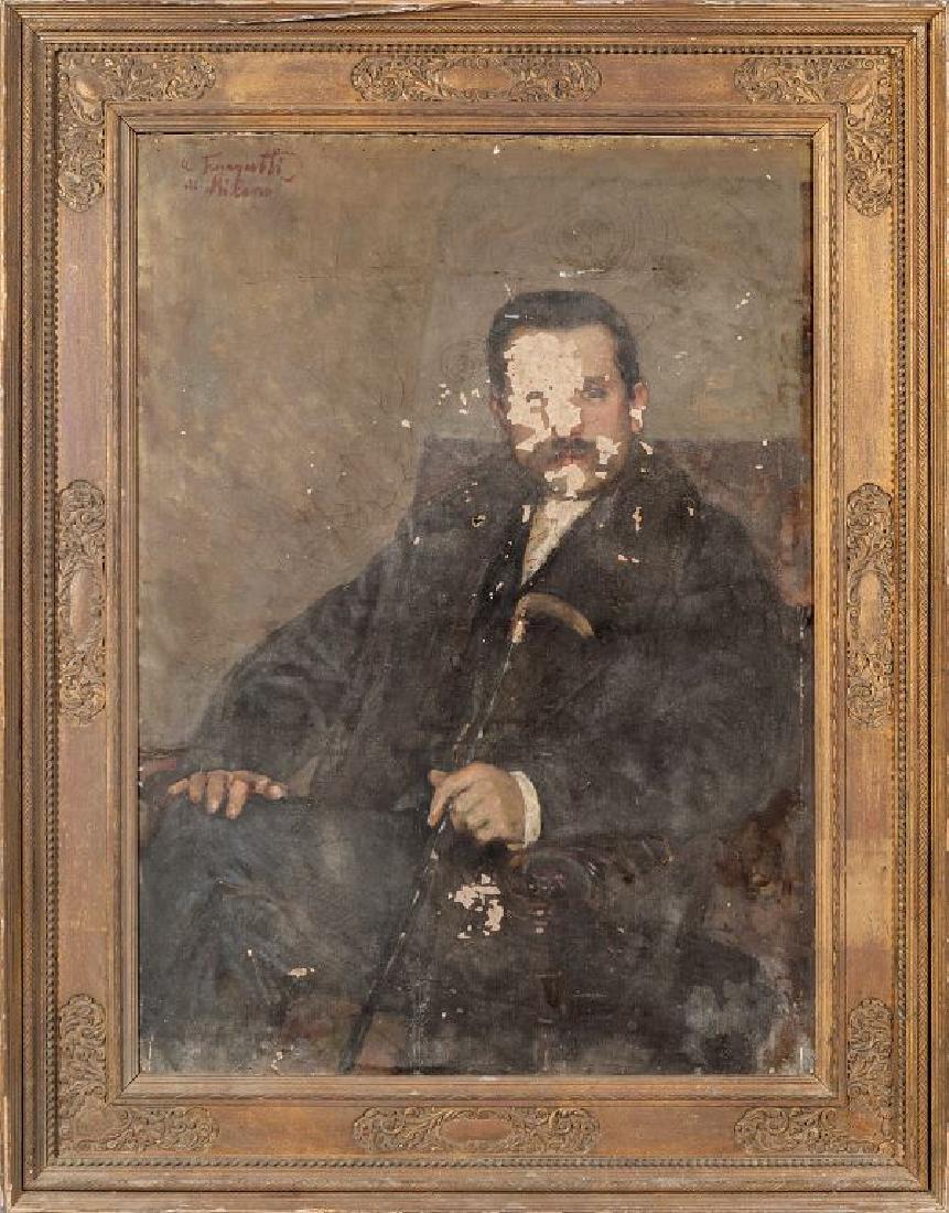 ARNALDO FERRAGUTI (1862-1925)  Ritratto
