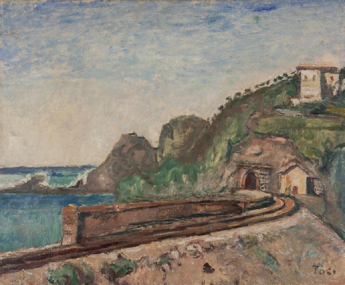 ARTURO TOSI (1871-1956)  Il tunnel a