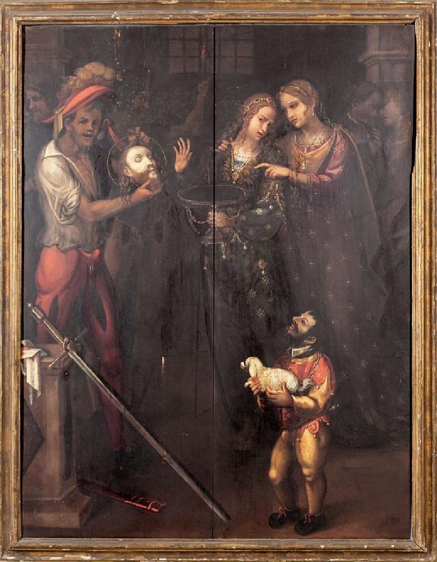 """Scuola lombarda sec.XVII """"Decollazione del"""