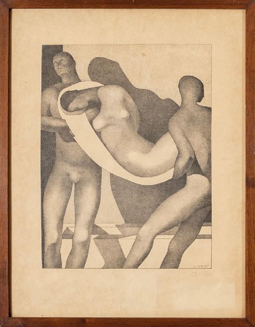 """ADOLFO WILDT (1868-1931)  """"Deposizione"""""""