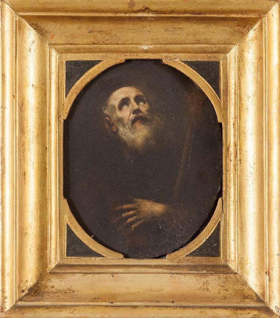 """Scuola emiliana sec.XVIII """"San Francesco da"""