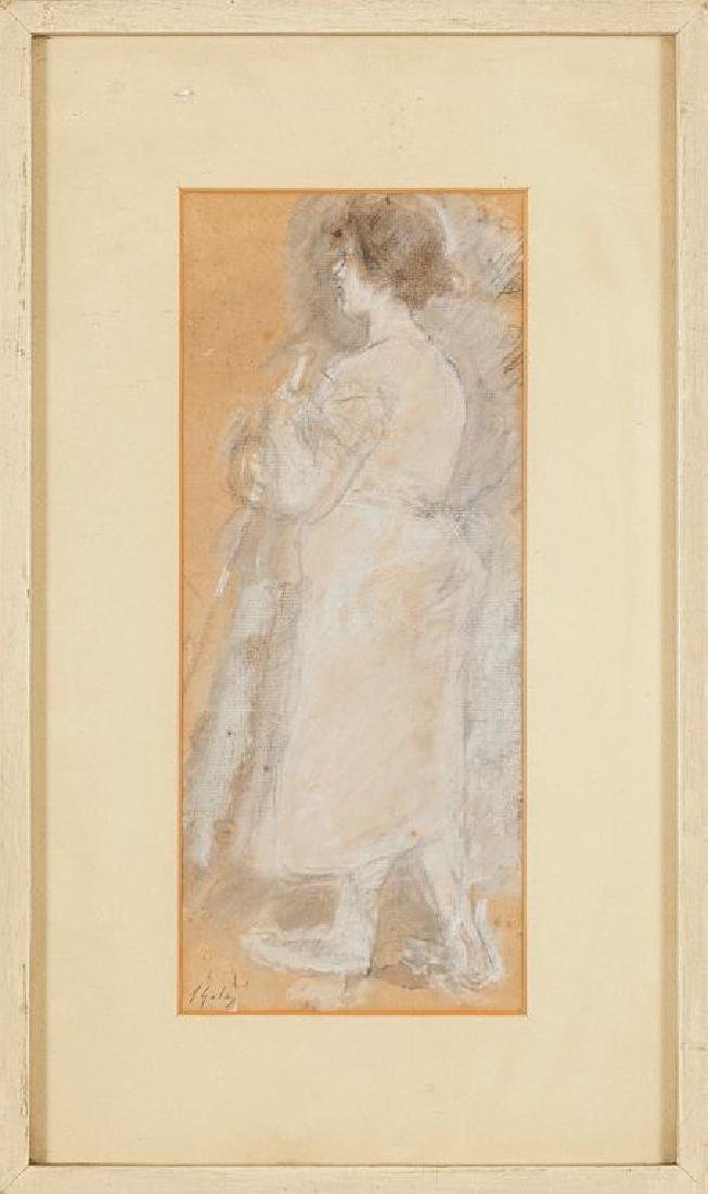 EMILIO GOLA (1851-1923)  Donna con