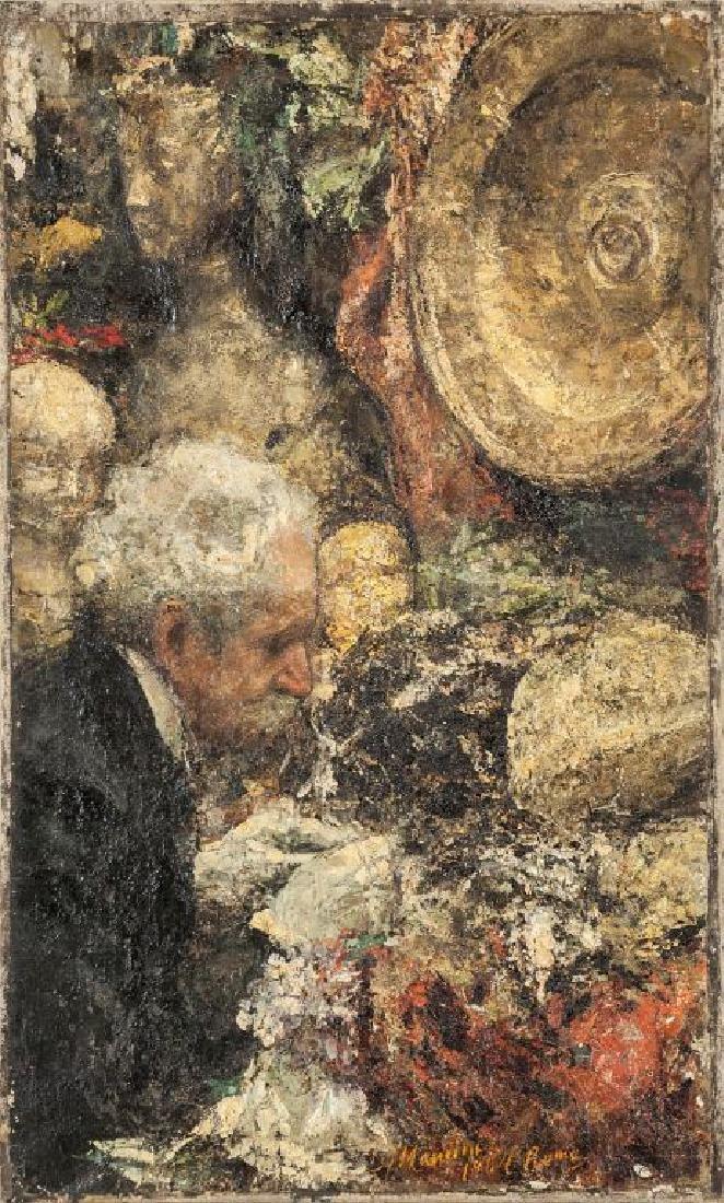 ANTONIO MANCINI (1852-1930)  L'amatore