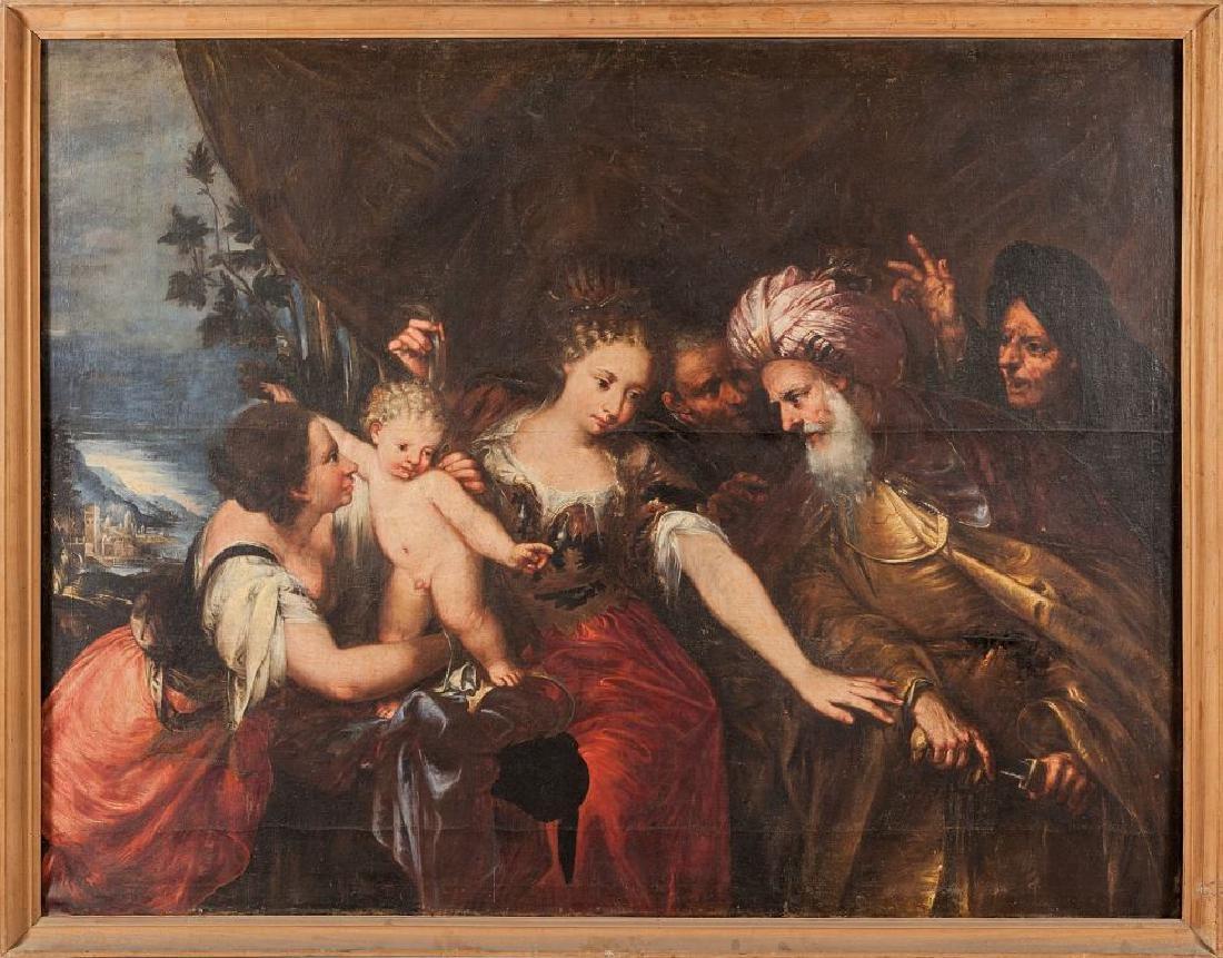 """CELESTI ANDREA (1637-1712)  """"Il giudizio di"""