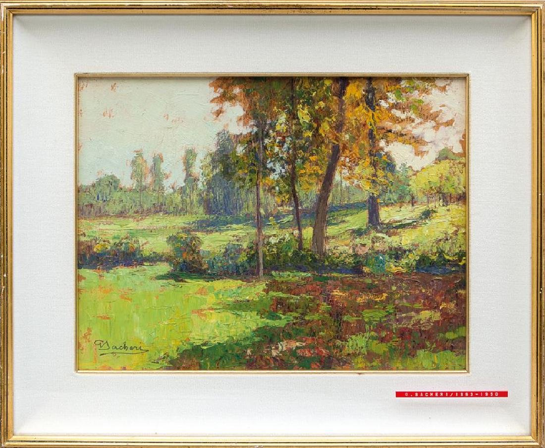 GIUSEPPE SACHERI (1863-1950)  Paesaggio