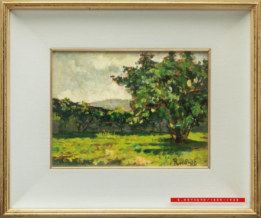 ENRICO REYCEND (1855-1928)  Paesaggio