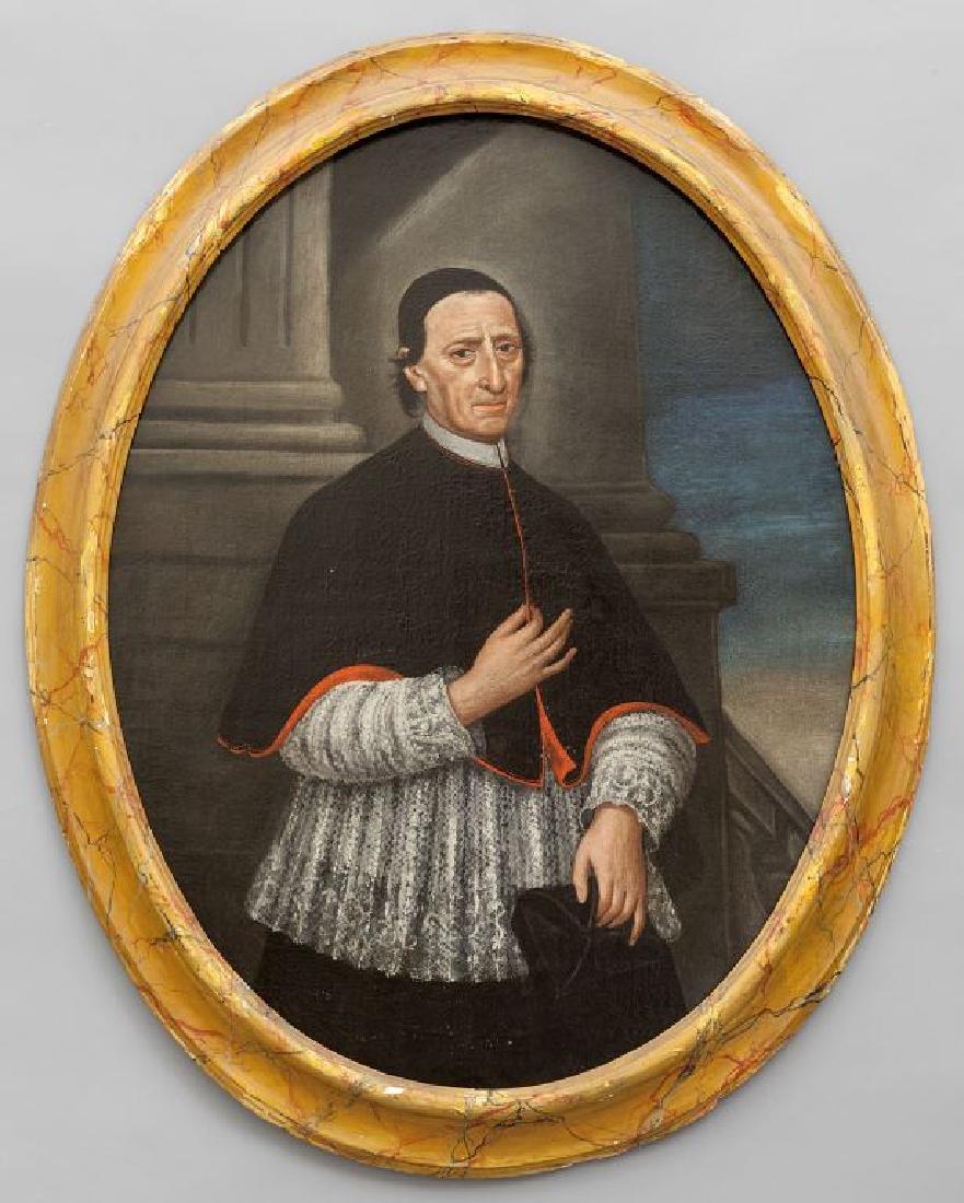 """Scuola emiliana sec.XVIII """"Ritratto di Prelato"""""""