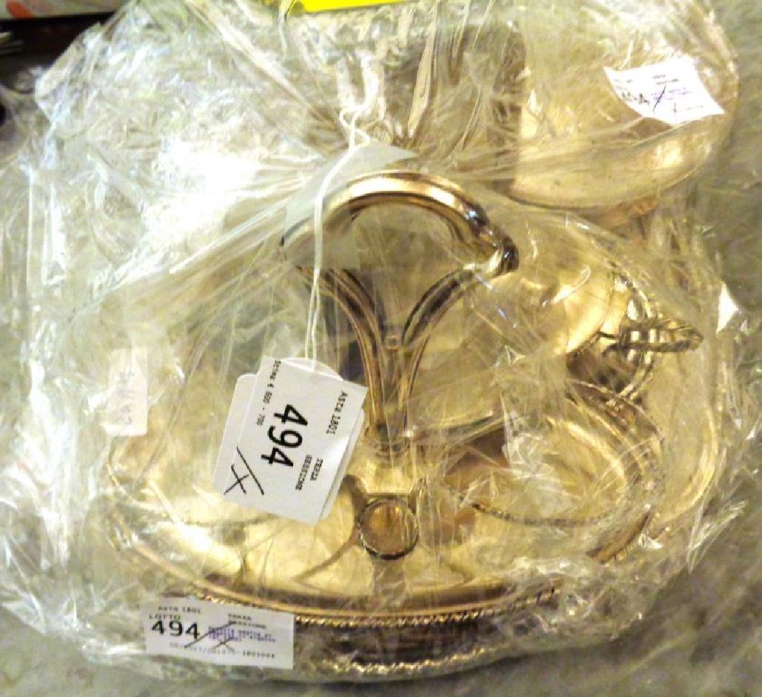 Scatola magica di oggetti in argento (gr.2700)