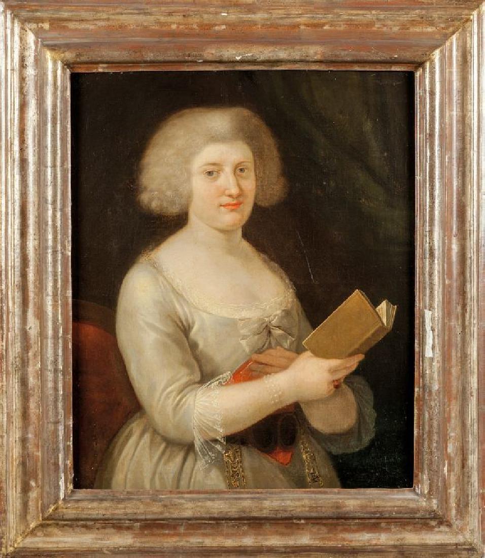 """Anton Von Maron (1738-1808 attribuito) """"Ritratto"""