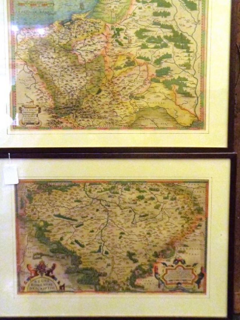 La Polonia e la Bulgaria, due stampe acquarellate