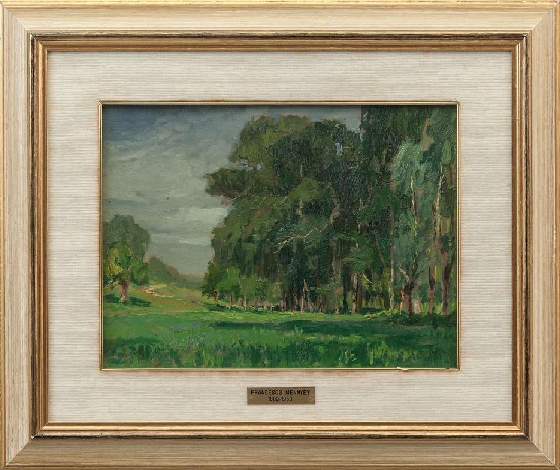FRANCESCO MENNYEY (1889-1950)  Estate a San