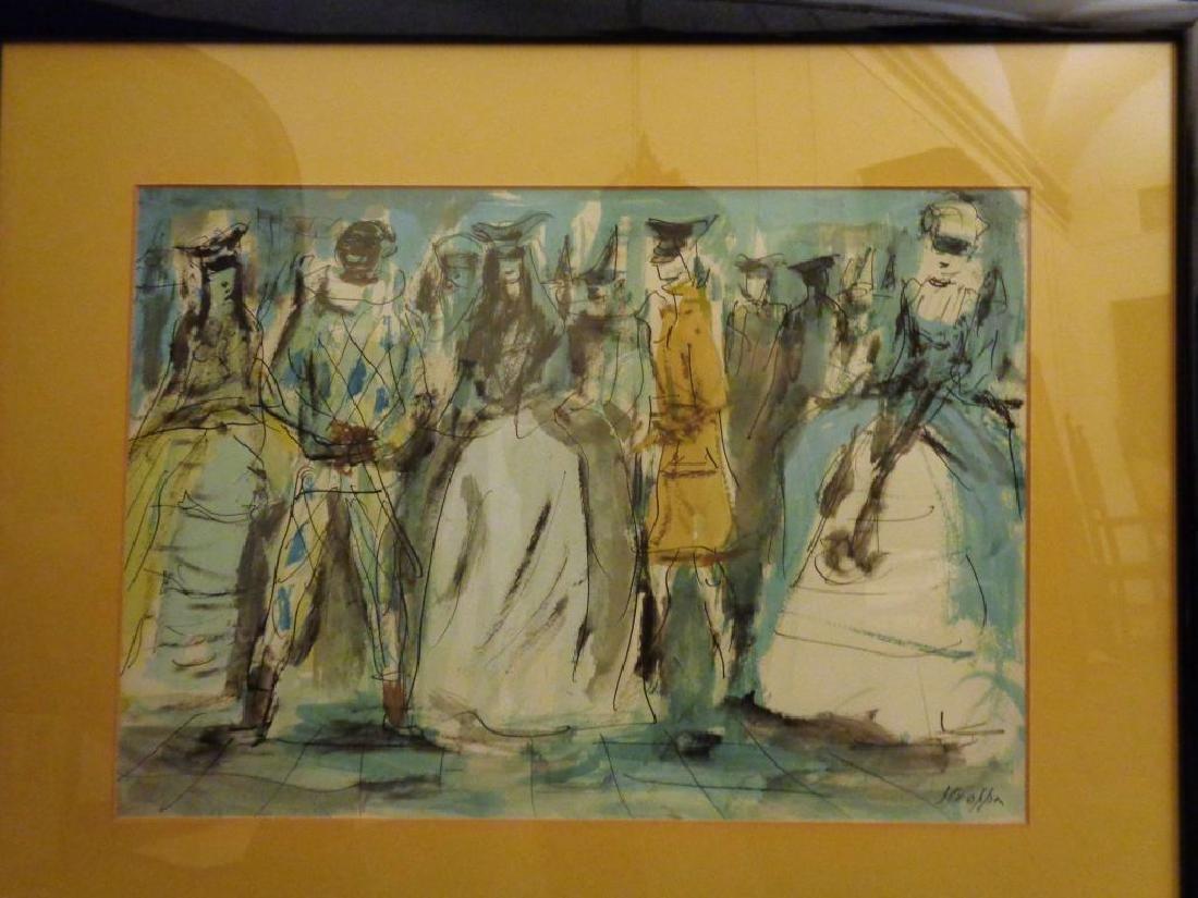 LEONARDO STROPPA (1900-1991)  Ballo in