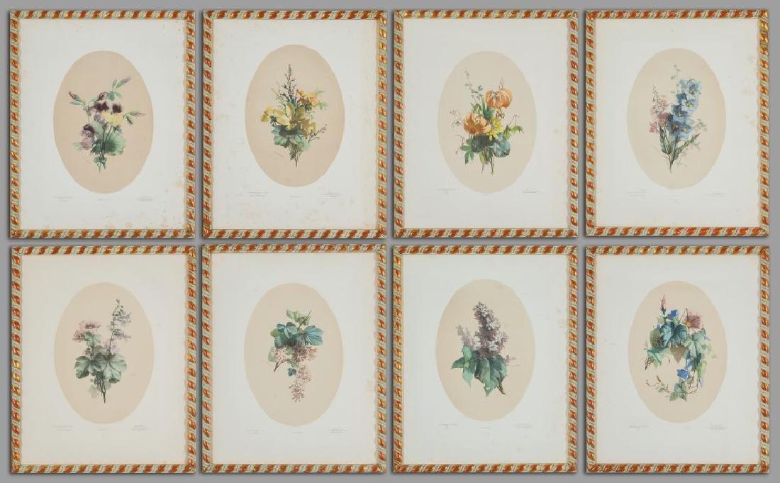 """""""Fiori"""" otto litografie, Parigi fine"""