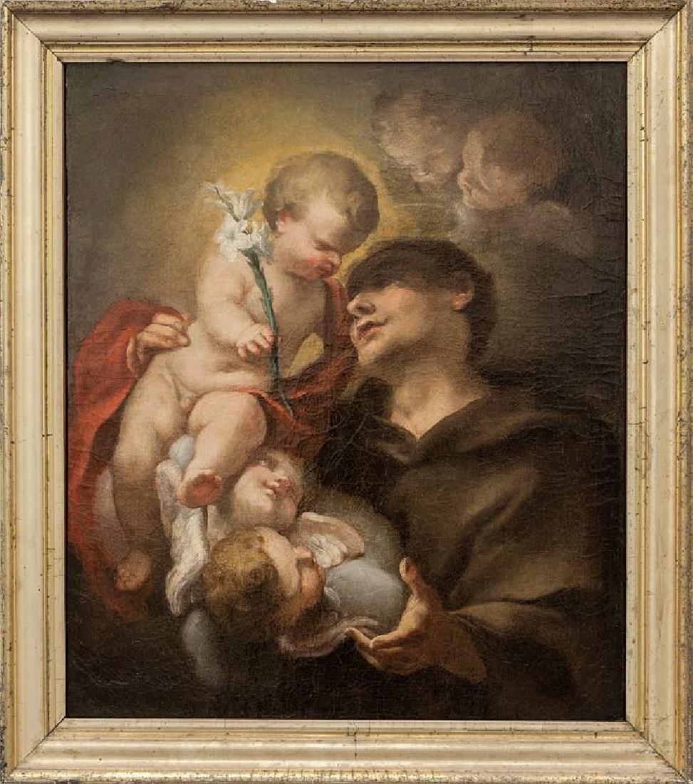"Scuola veneta sec.XVIII ""Sant'Antonio con il"