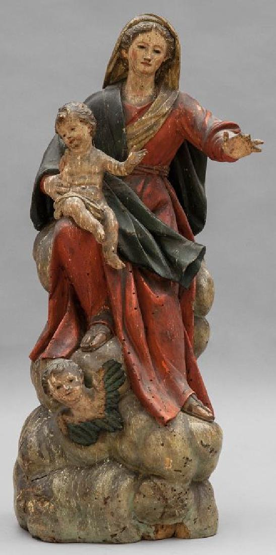 MARAGLIANO ANTON MARIA (1664-1739)  Madonna