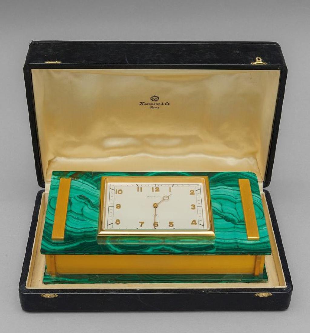 Orologio f.to Hausmann-Roma montato su scatola in
