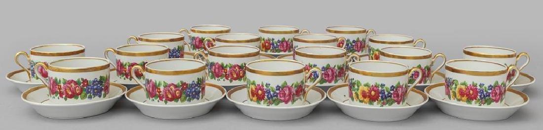 Servizio da thè in porcellana Richard Ginori (18
